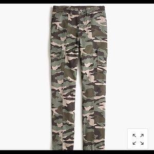 J Crew camo pants